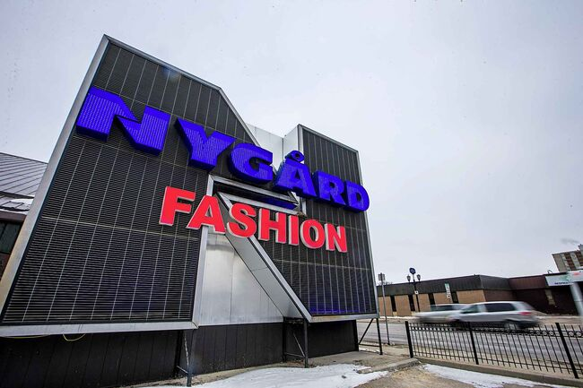 A Nygard spokesman says stakeholders are committed to the company's long-term financial stability. (Mikaela MacKenzie / Winnipeg Free Press files)