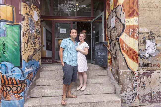 The Husband and wife team behind Chew and The Store Next Door, Kyle Lew and Kristen Chemerika-Lew, will soon be opening a new cafe and bakery called Lark at 91 Albert St. (Sasha Sefter / Winnipeg Free Press)