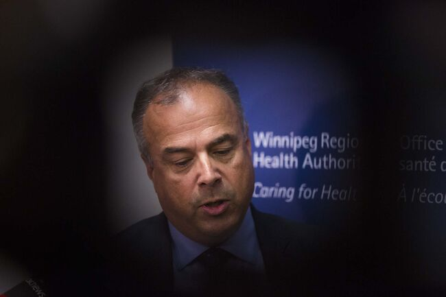 President and Chief Executive Officer of WRHA, Real Cloutier, announced his decision to retire Thursday. (Mikaela MacKenzie / Free Press files)</p>