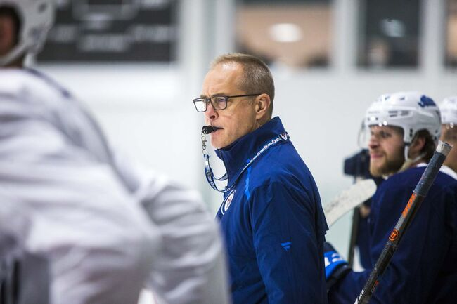 Paul Maurice has a 264-186-53 record with the Jets since taking over as coach midway through the 2013-14 season. (Mikaela MacKenzie / Winnipeg Free Press files)						</p>