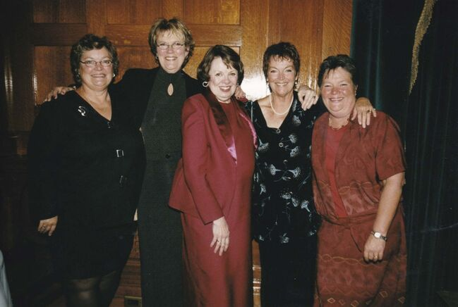 <p>Supplied</p><p>All the sisters Mary (from left), Carolyn, Pat, Roberta and Barb.</p>