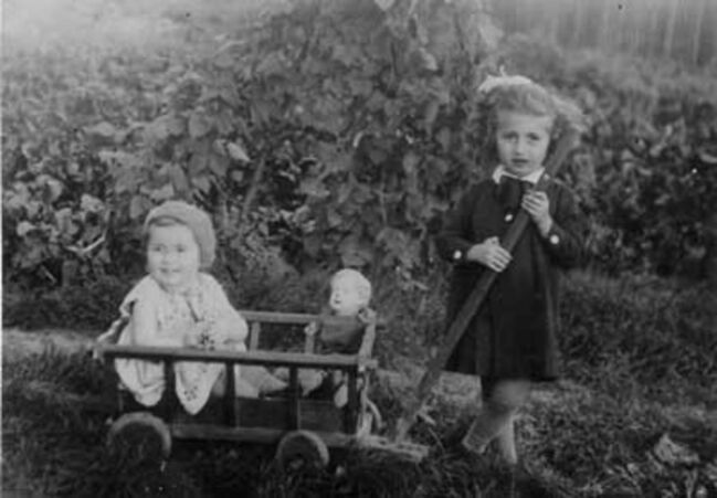 <p>Supplied</p><p>Carmela Finkel (left) and her older sister Betty grew up in pre-war Poland.</p>