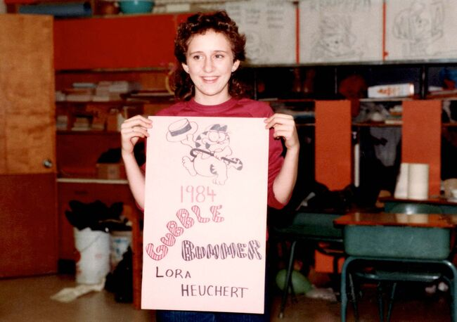 <p>Supplied</p><p>At age 12 she participated in a community event in Clavet, SK, where her family ran a dairy farm with more than 200 cows.</p>