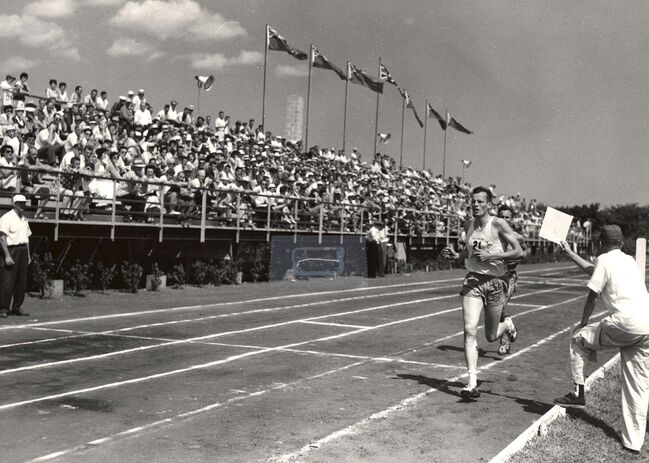<p>Supplied</p><p>Drybrough set the Canadian record for the mile at the national indoor track and field championships in 1960. He also ran the mile at Drake University in Des Moines, Iowa, in 1958 and 1959.</p>