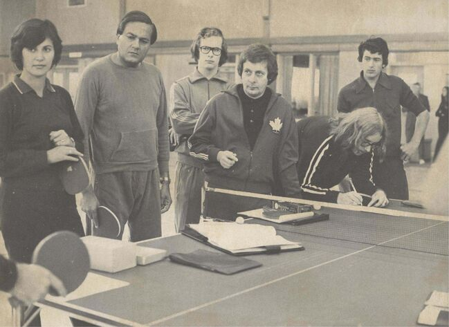 <p>Manitoba Sports Hall of Fame</p><p>Werier was on the Manitoba Table Tennis Association board for 22 years.</p>