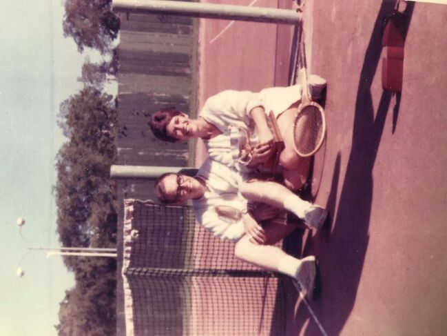 <p>supplied</p><p>Rick and Judy started out playing tennis at the old Wildewood clay courts under the tutelage of their father, and fellow Tennis Manitoba Hall of Fame inductee, Lloyd.</p>