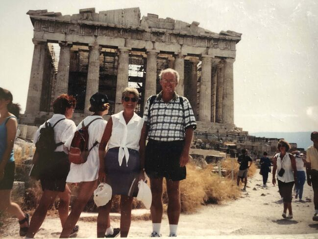 <p>supplied</p><p>After Rick's retirement from Winnipeg Transit, he and Heather travelled as much as they could. Mexico was a favourite spot, as was Greece.</p>