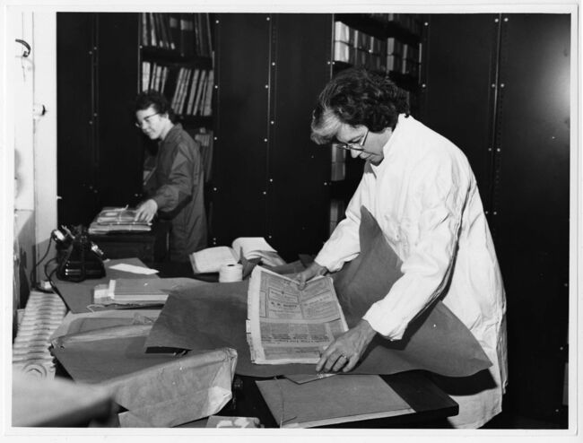 <p>Manitoba Archives</p><p>Shirlee Anne Smith was the first Keeper of the Hudson's Bay Company archives.</p>