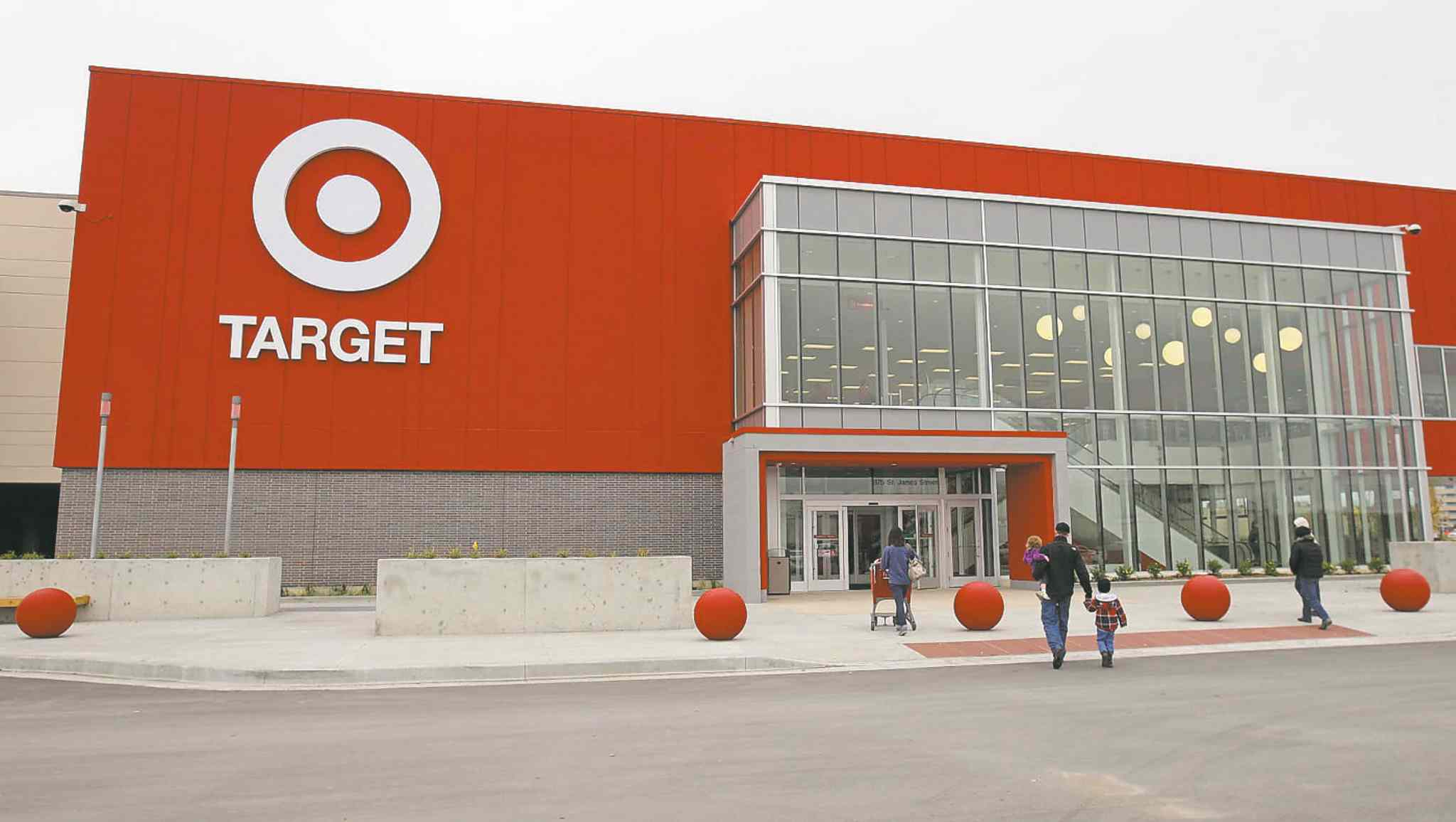 The Plaza at Polo Park Target opened in October.