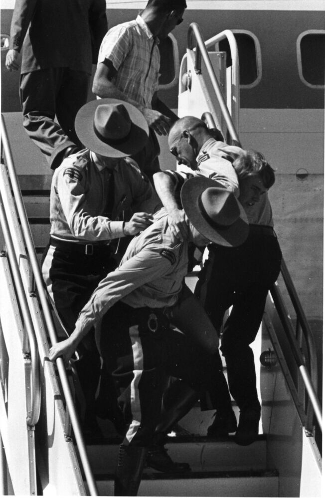Bruce Decker, 17, almost made it to the door of the Beatles' plane when they landed in Winnipeg in the summer of 1964.  (Dave Bonner photo)