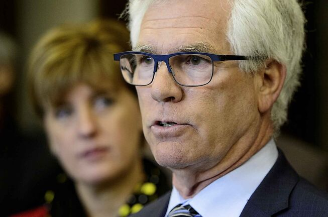 Minister of International Trade Diversification Jim Carr has been tasked with finding new markets for Canada's canola.