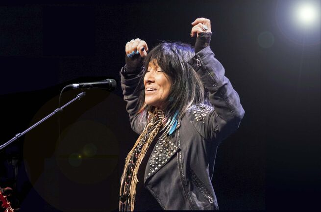 D. Brian Camp photo</p><p>Buffy Sainte-Marie</p>