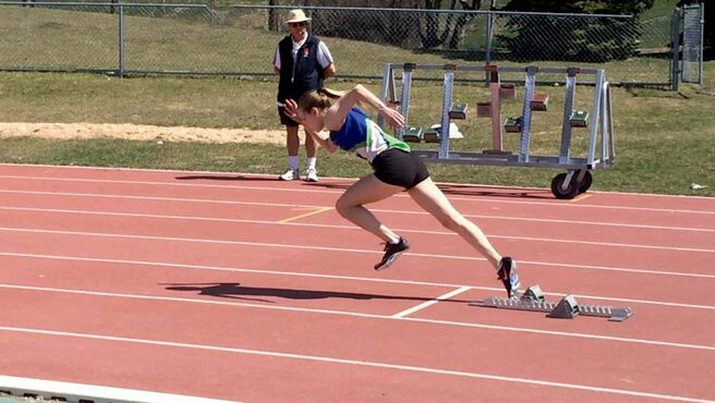 Erika Britton will be heading to Langley, B.C. in August to compete at the Royal Legion Canadian Youth Track and Field Championships.