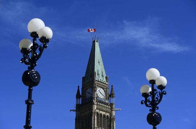 The Peace Tower on Parliament Hill. (Sean Kilpatrick / The Canadian Press files)