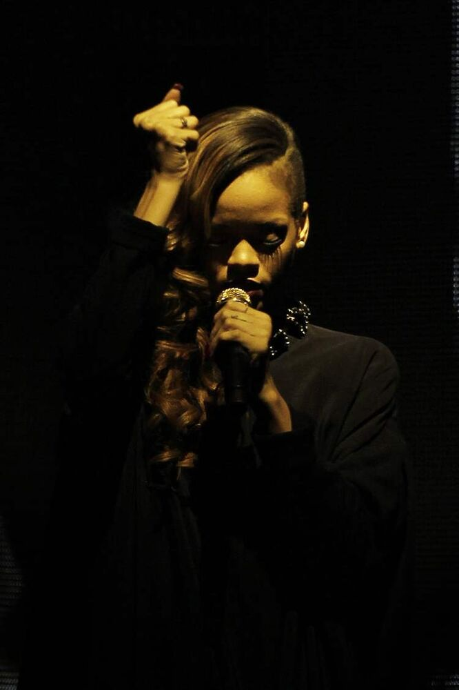 Rihanna plays MTS Centre Winnipeg Monday, March 25, 2013.