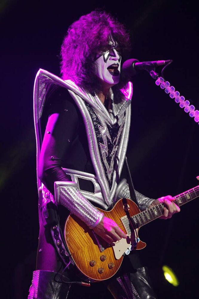 Tommy Thayer. (John Woods / Winnipeg Free Press)