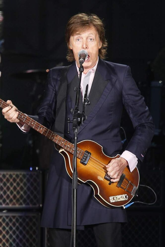 Sir Paul McCartney. (John Woods / Winnipeg Free Press)