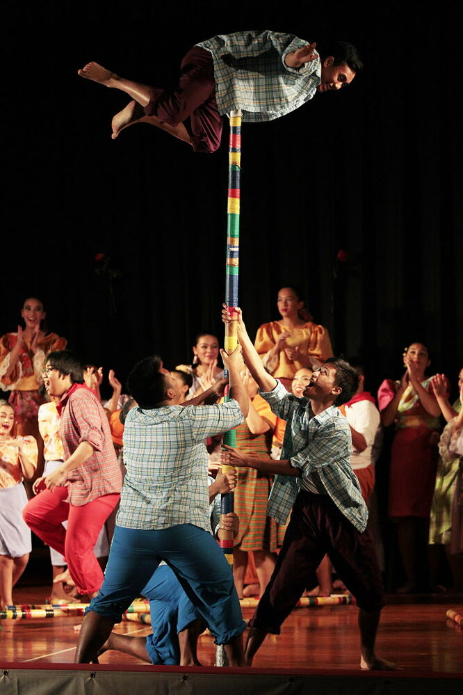 Performers at Folklorama's Philippine Pavilion Monday.