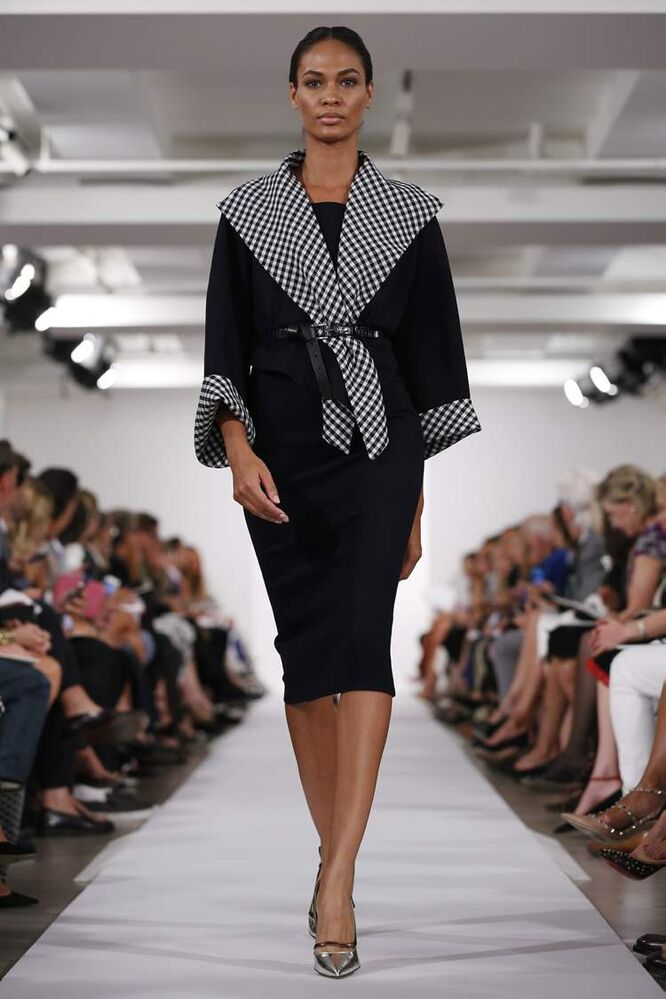 The Oscar de la Renta Spring 2014 collection is modelled during Fashion Week in New York, Tuesday, Sept. 10.