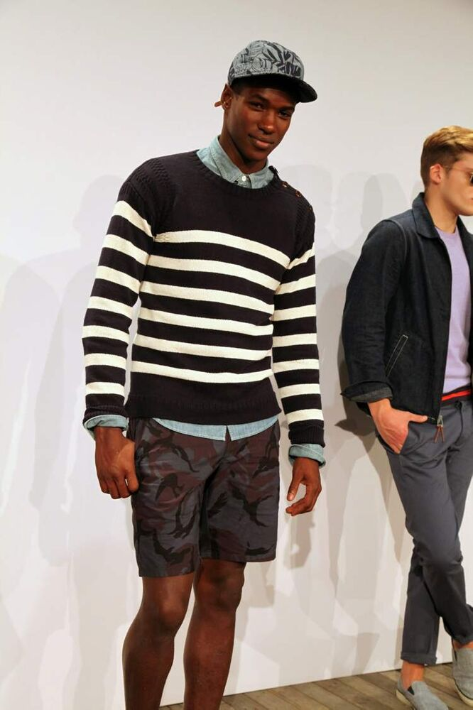 The J. Crew Spring/Summer 2014 collection is modelled at New York Fashion Week, Tuesday, Sept. 10.