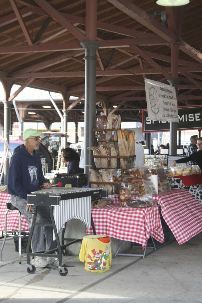 Detroit's huge open-air Eastern Market on the city's northeast side features hundreds of vendors.<br><br>