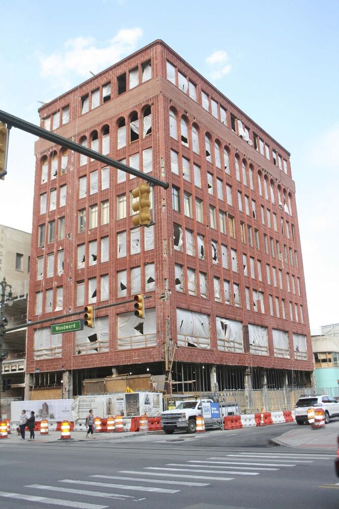 The soon-to-be Shinola Hotel on Woodward Avenue will feature 130 rooms and 1,600 square feet of restaurants and retail space.<br><br>