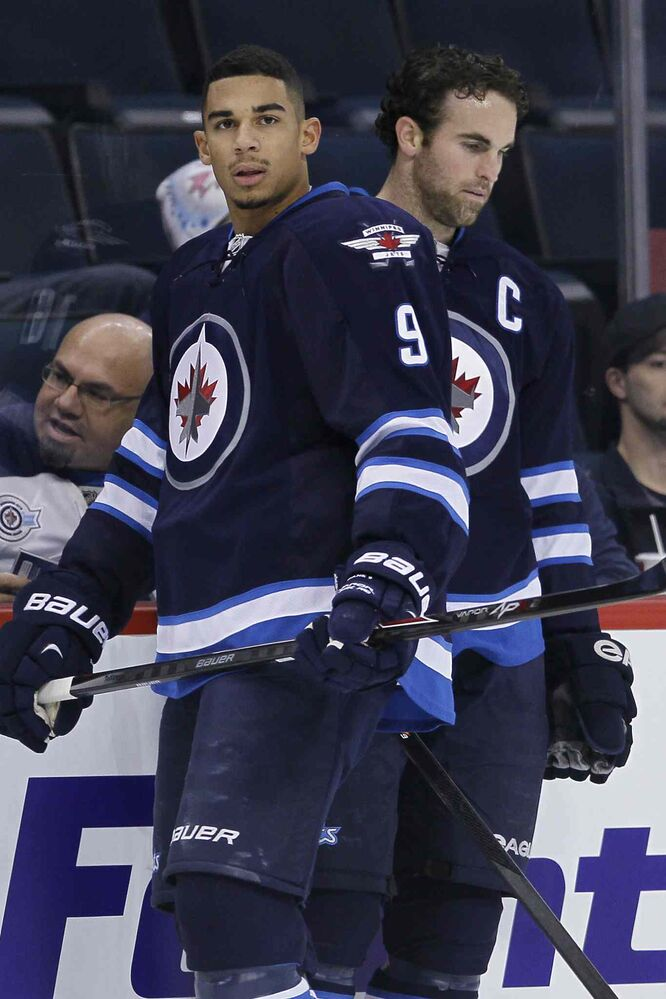 Evander Kane and Andrew Ladd.