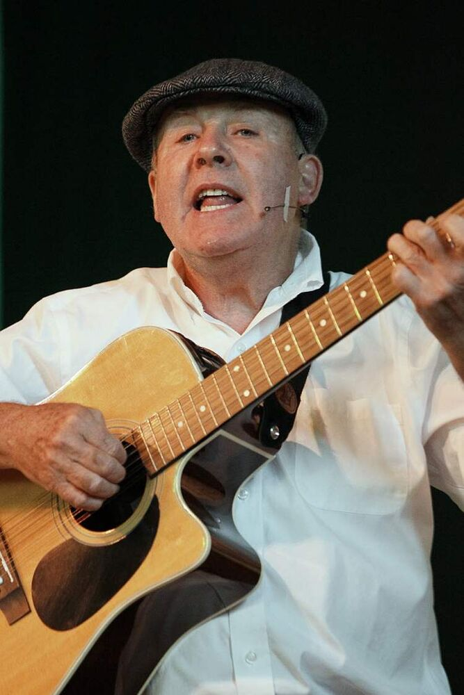 Tom McDermot performs at the Ireland-Irish Pavilion Sunday, August 5, 2012.