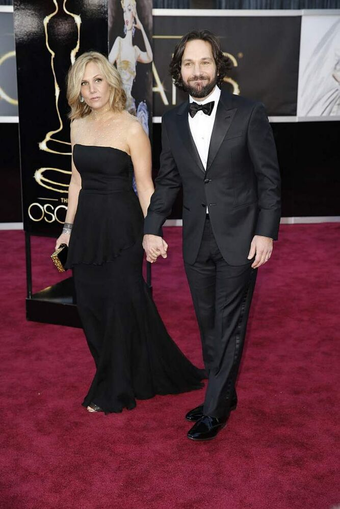 Paul Rudd with wife Julie Yager. (Jay L. Clendenin/Los Angeles Times/MCT)