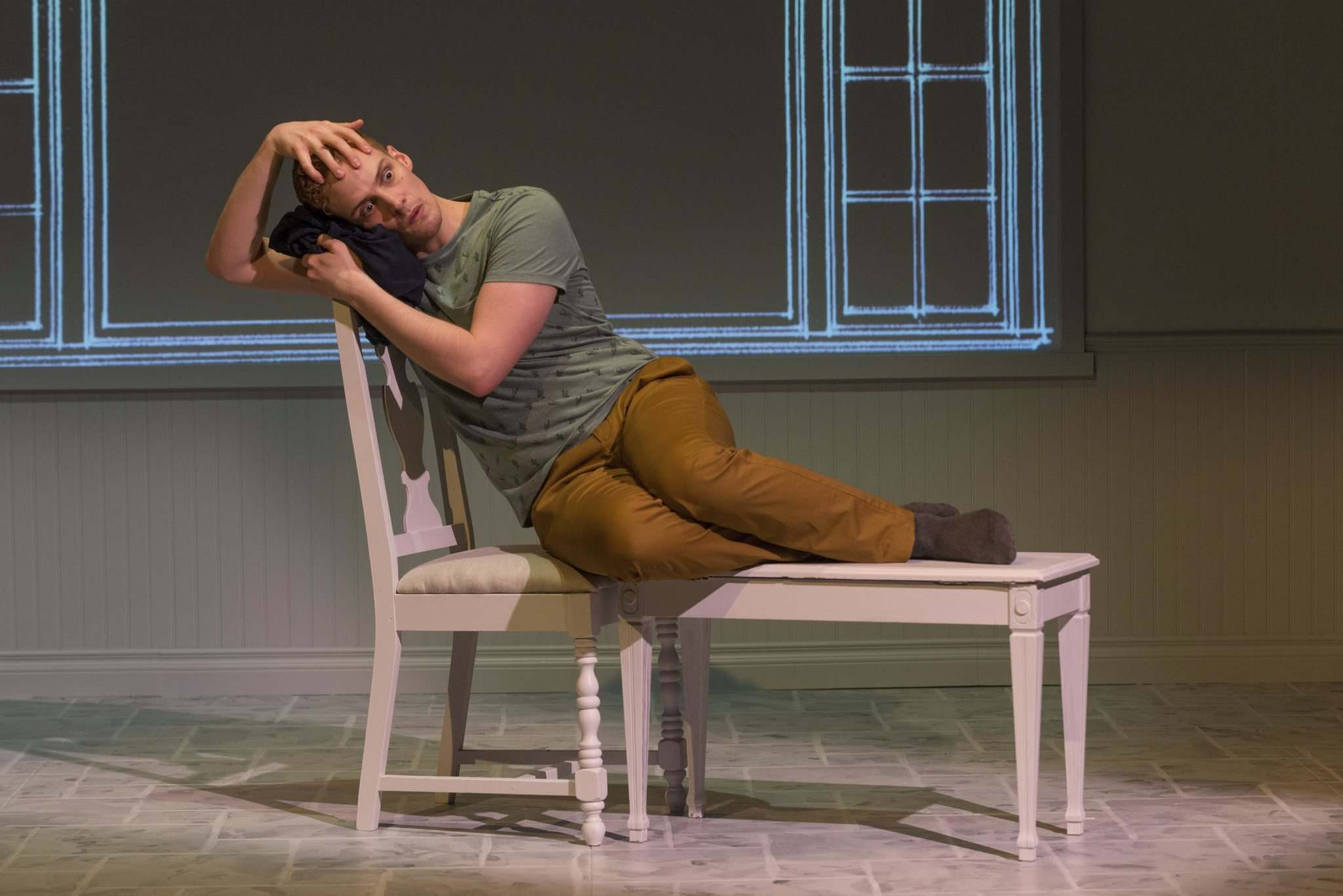 KEITH LEVIT PHOTO</p><p>Miller plays six characters in Buyer &amp; Cellar.</p>