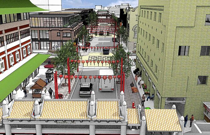 The City of Winnipeg is planning long-term makeovers for the Northwest Exchange District and Chinatown neighbourhoods.