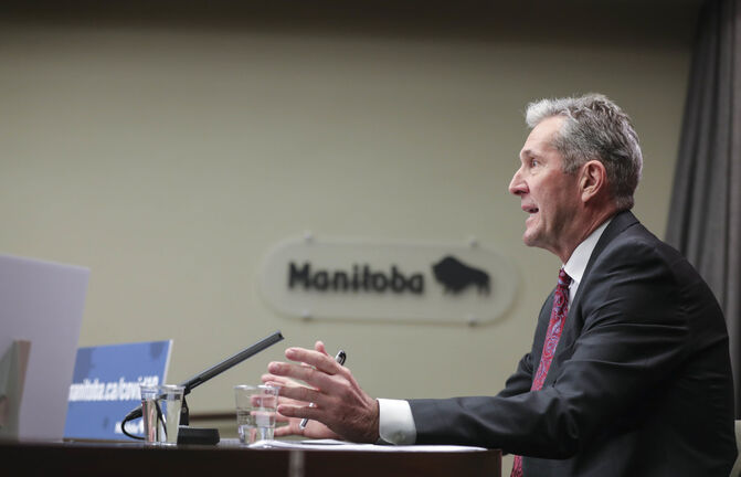 When Brian Pallister said he wanted a three-per-cent cut in operating budgets for every entity that is either directly or indirectly funded by his government, it was observed by many that this is the wrong time for additional austerity. (Ruth Bonneville / Winnipeg Free Press files)