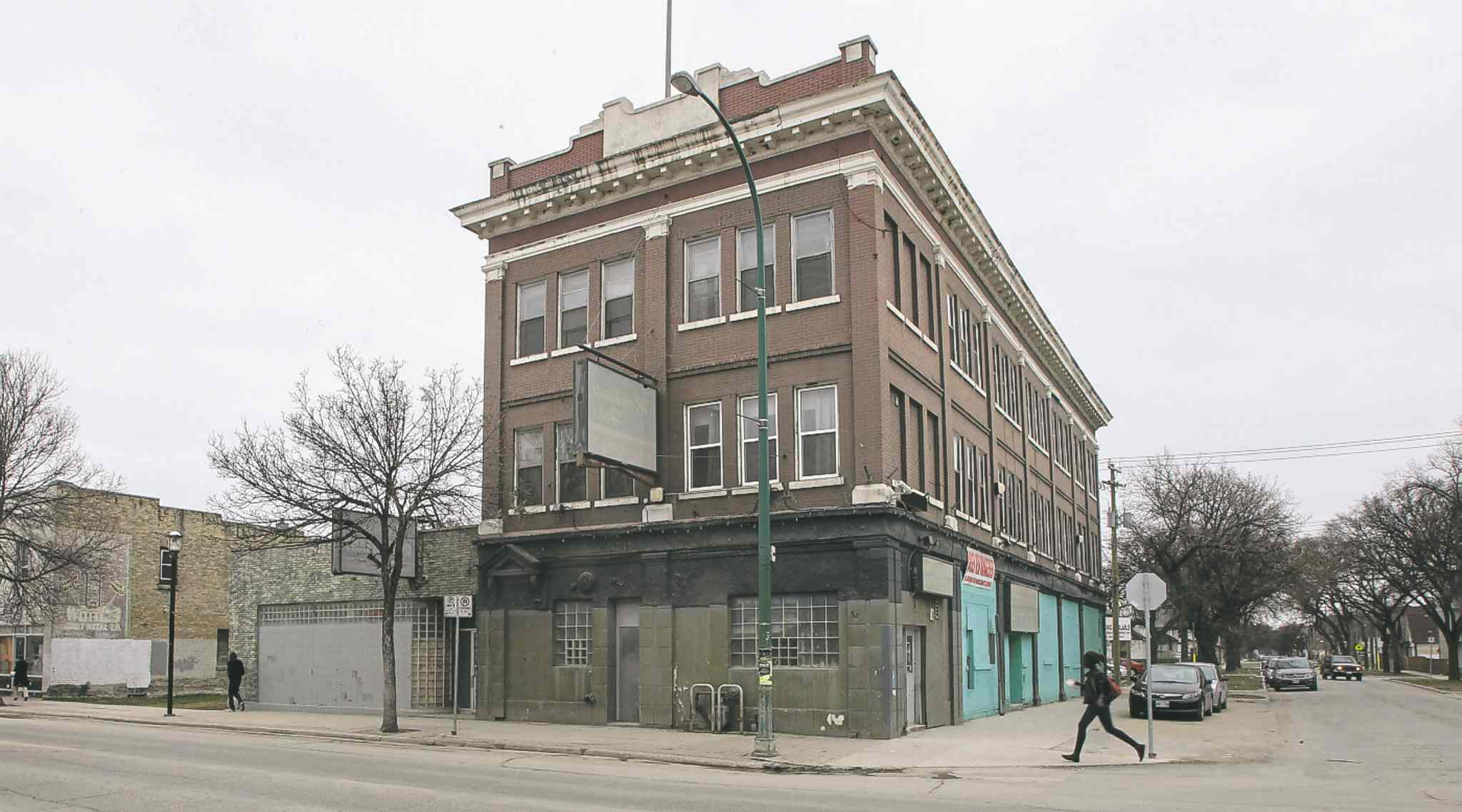 The once-notorious Merchants Hotel (above) on Selkirk Avenue is the cornerstone for a housing and education hub under development.