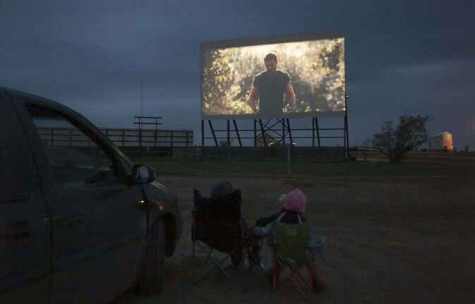Melissa Tait / Winnipeg Free Press Files</p><p>One of two remaining drive-in theatres in the province, the Stardust Drive-in in Morden plans to reopen in a couple weeks, once the logistics of social distancing at the concession stand have been worked out.</p>