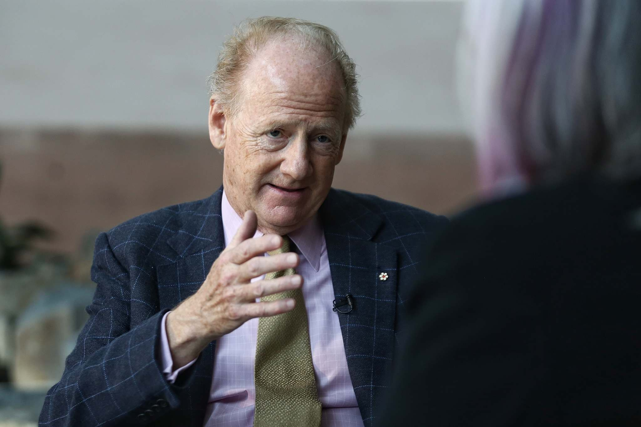 MIKE DEAL / WINNIPEG FREE PRESS</p><p>John Ralston Saul: lack of hope, confusion and nihilism leads to suicides. </p></p>