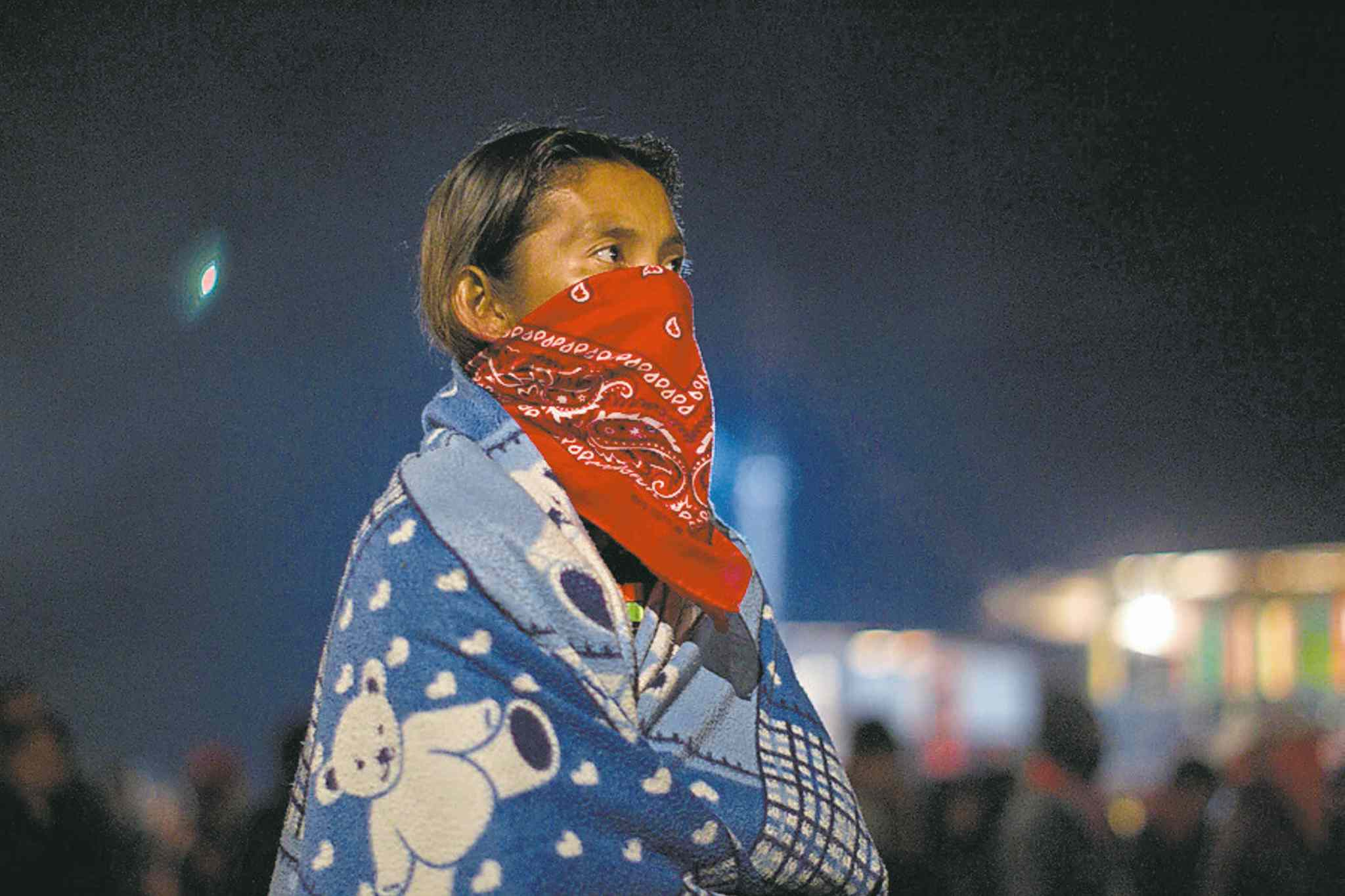 A supporter of Mexico's Zapatista National Liberation Army.