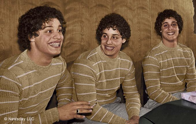 NEWSDAY</p><p>Director Tim Wardle cleverly blends archival footage with contemporary interviews to fashion a compelling mystery in Three Identical Strangers.</p>