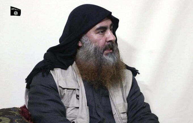 Al-Furqan media Files</p><p>Former Islamic State leader Abu Bakr al-Baghdadi</p>