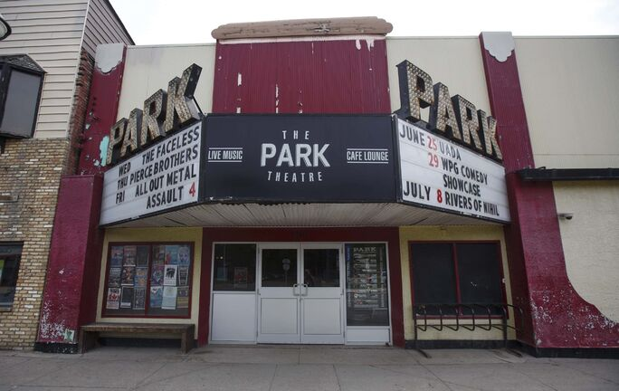 MIKE DEAL / WINNIPEG FREE PRESS The Park Theatre, 698 Osborne St. The Park turns 102 years old this year. 180622 - Friday, June 22, 2018.