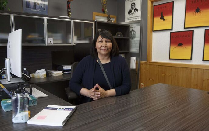 Brokenhead Chief Deborah Smith says the program Kitigay (Ojibwa for