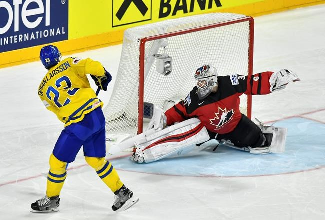 Canada beats Russian Federation 4-2 to reach final of ice hockey worlds