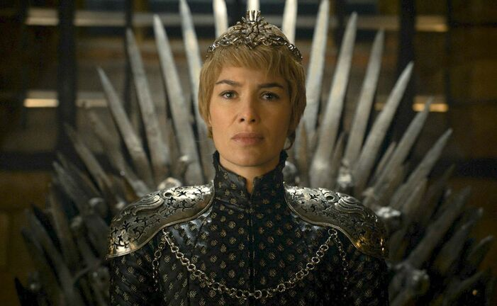 Lena Headey as Queen Cersei on Game of Thrones