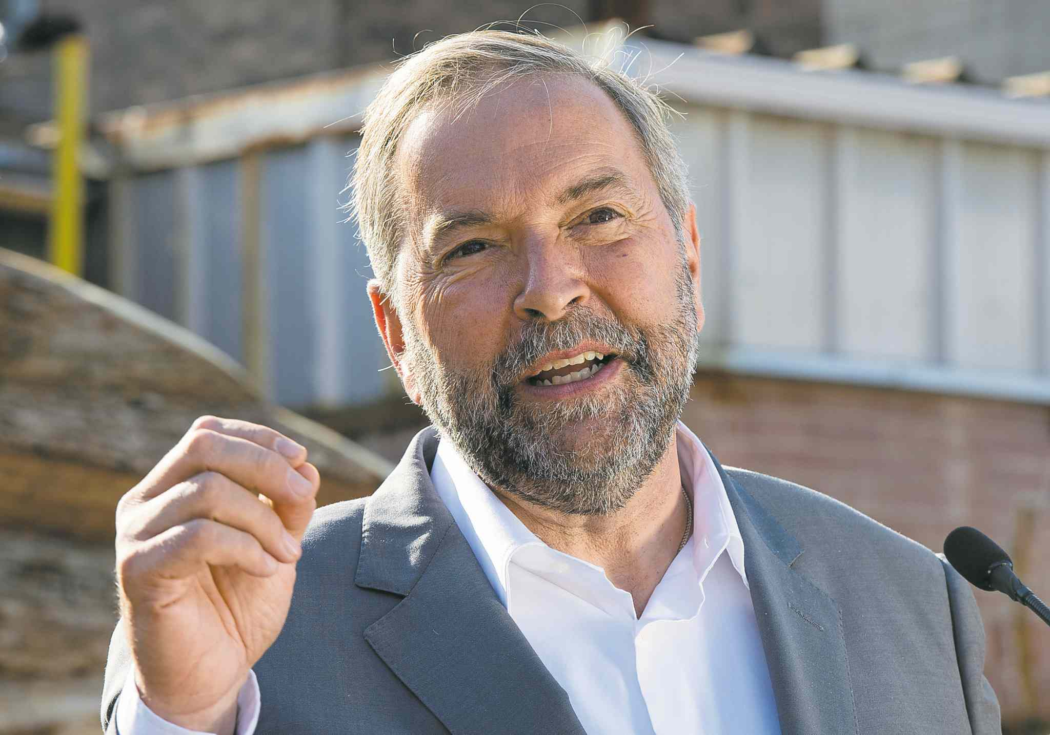 Tom Mulcair : numbers need revision