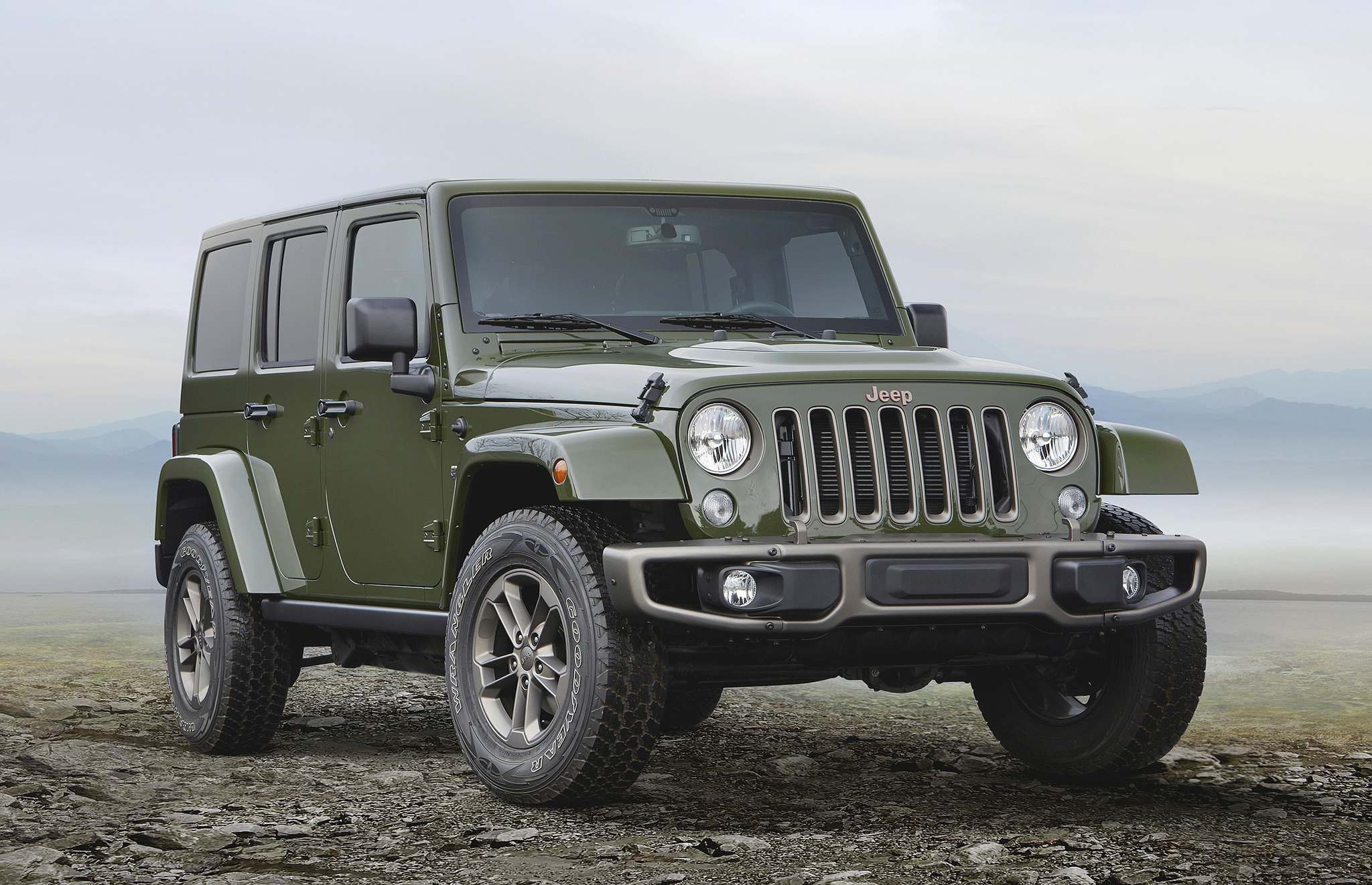FIAT CHRYSLERAlways an off-road favourite, the Jeep Wrangler may soon be getting a more powerful engine.