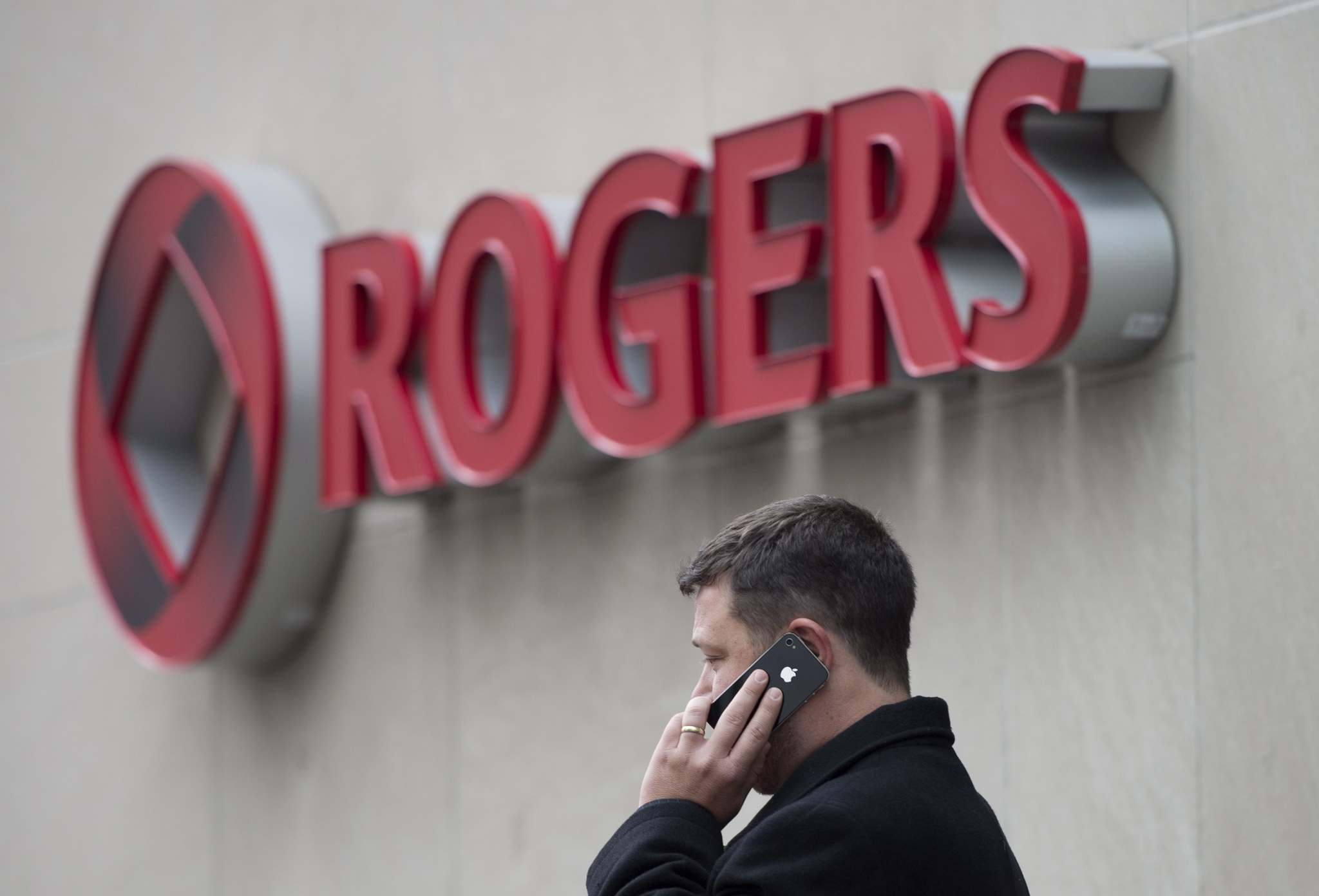 DARREN CALABRESE / THE CANADIAN PRESS FILES </p><p>Rogers hiked rates on certain cell-phone data plans by $5, leaving the prices the same on others but reducing allotted data.</p>