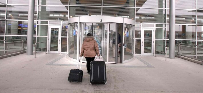 More and more passengers are heading into Richardson International Airport for flights out of the city, the Winnipeg Airports Authority reported Tuesday.
