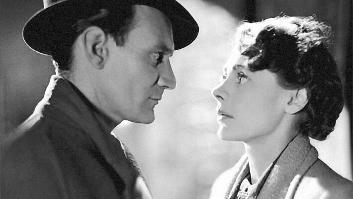 Trevor Howard is Alec Harvey in the 'sensible' 1945  love story Brief Encounter opposite Laura Jesson, played by Celia Johnson.