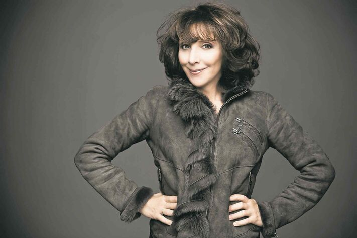 Andrea Martin was born in Portland, Maine, but says she felt at home when she touched down in Toronto.