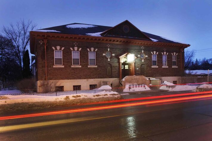 St. John's Library on Salter Street was built with a Carnegie grant of $35,000 in 1915.