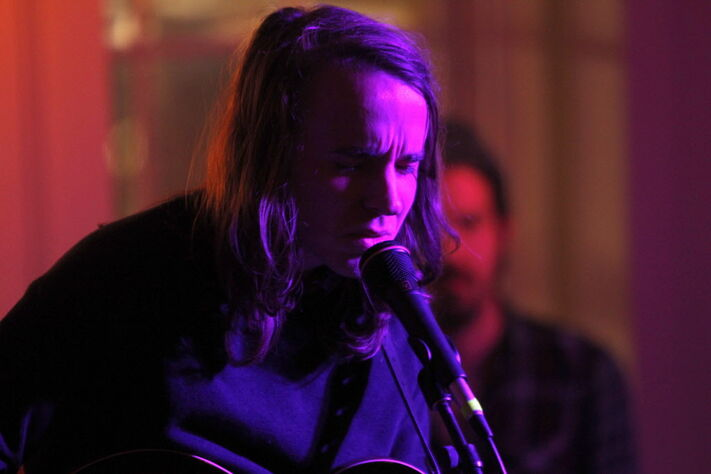 Andy Shauf performs at the Ballroom (218 Roslyn Rd.) as part of Big Fun Festival Wednesday night.